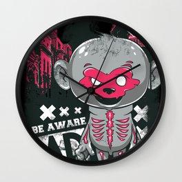 Cartoon Skeleton Wall Clock