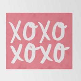 Xo Hugs & Kisses Throw Blanket