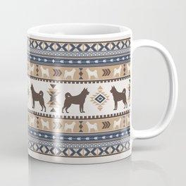Boho dogs | Elkhound/Jämthund tan Coffee Mug