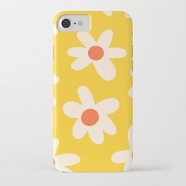 Happy Golden Daisies | Yellow Daisies | Summer Flowers iPhone Case