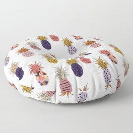 patterned pineapples Floor Pillow