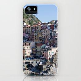 Manarola, Cinque Terre Italy iPhone Case