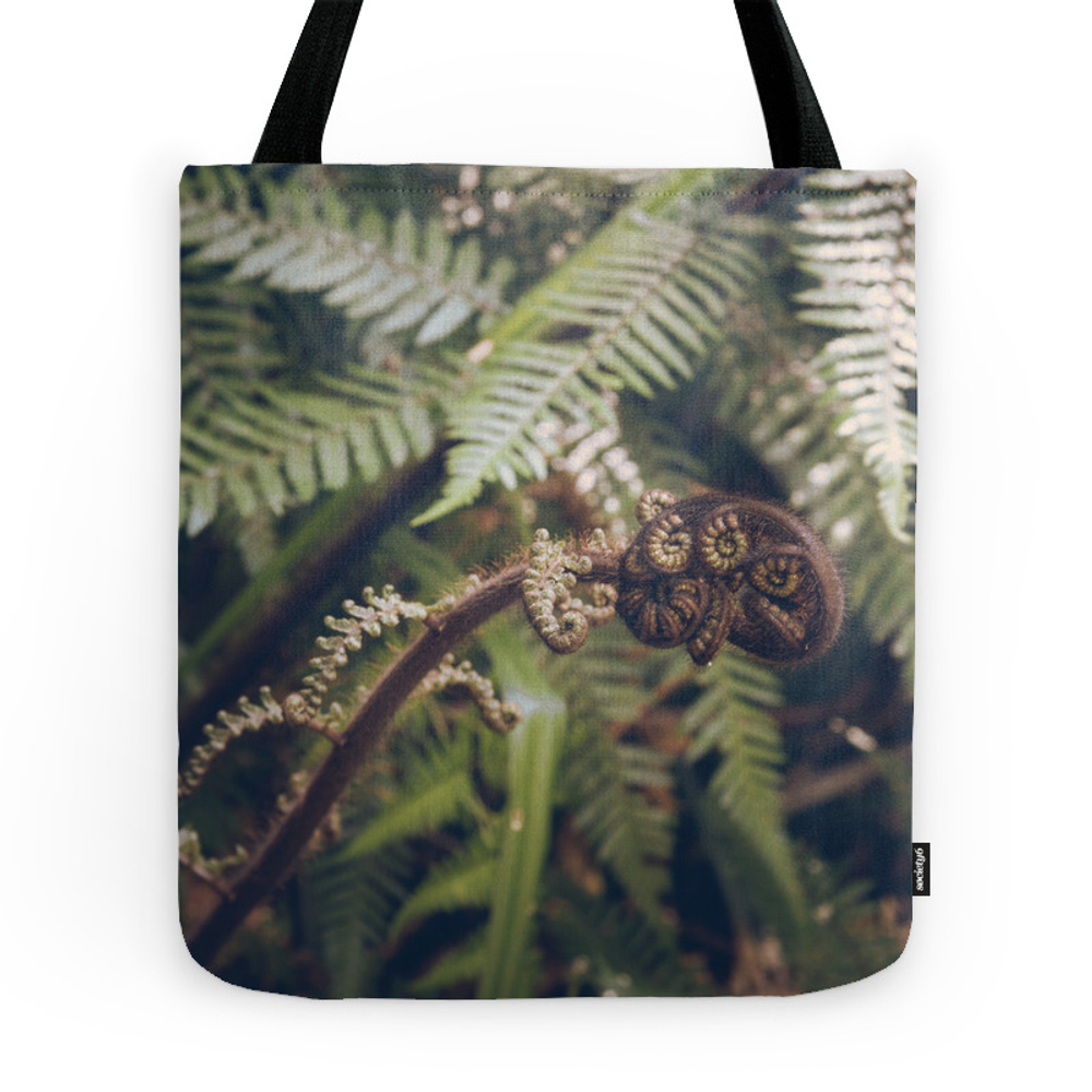 New Zealand's Flora 06 Tote Purse by bellaterra (TBG7605183) photo