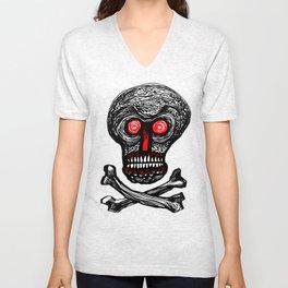 Skullhead One Unisex V-Neck
