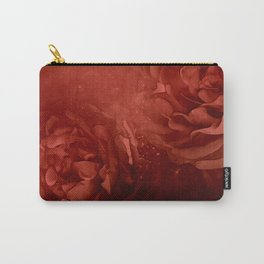 Wonderful flowers in soft red colors Carry-All Pouch