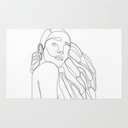 La Femme Qui Aime Sa Mélanine Rug
