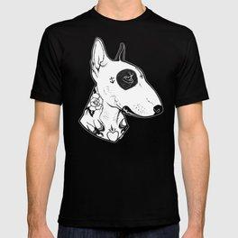 Bull Terrier dog Tattooed T-shirt