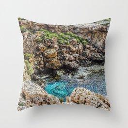 Crumble, Splash Throw Pillow