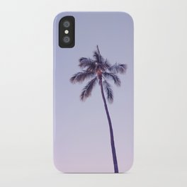 palm tree ver.pink iPhone Case