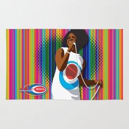 Gladys Subway Soul by Dawn Carrington Rug