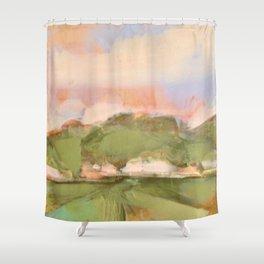 Joyous oaks Shower Curtain