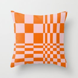 Abstraction_ILLUSION_01 Throw Pillow