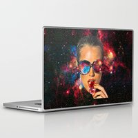 eugenia loli Laptop & iPad Skins featuring I AM I by Eugenia Loli