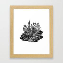 Hidden Cuttlefish Framed Art Print