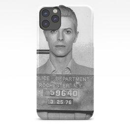 Bowie Mugshot iPhone Case