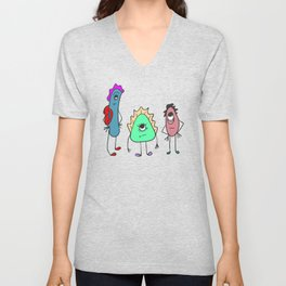 What is it? Unisex V-Neck