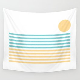 Sunset Lines Wall Tapestry