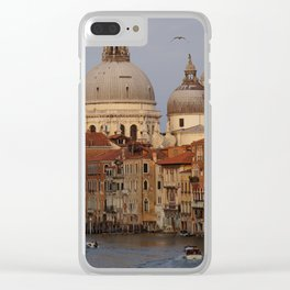 Venice from il Ponte dell'Accademia Clear iPhone Case