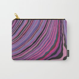 Mineralicious~Pink Agate Carry-All Pouch