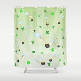 Pot of Gold Shower Curtain