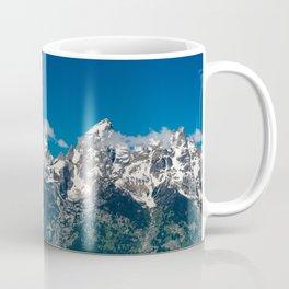 Grand Tetons Panorama Coffee Mug