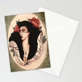Madame, Je vous aime! Stationery Cards