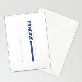 ER Nurse T shirt For Women Nursing T-shirt ER EMT Nurse Tee Stationery Cards