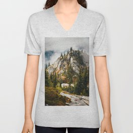 High Mountain Pines Unisex V-Neck