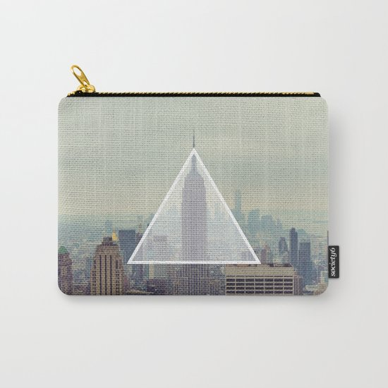 New York Triangle Carry-All Pouch