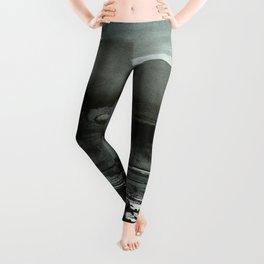 layered ink Leggings