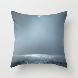 Ocean Spotlight Throw Pillow