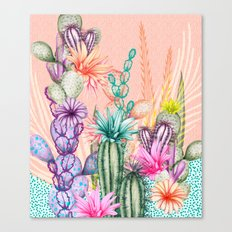 Cacti Love Canvas Print