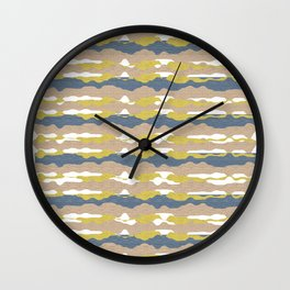 Sand Storm Wall Clock