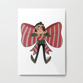 Xmas Harry Metal Print