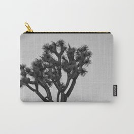 Joshua Tree - Black and White Desert Vibes Carry-All Pouch