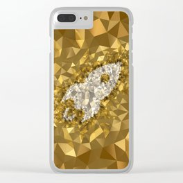 POLYNOID Rocket / Gold Edition Clear iPhone Case