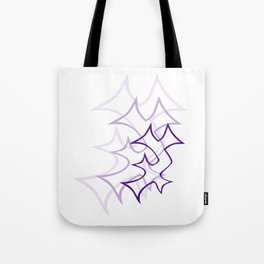 Ambiguous Enochian A for light backgrounds Tote Bag