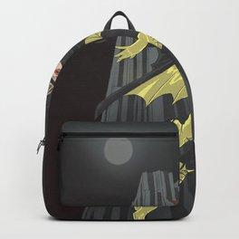 A swinging batgirl Backpack
