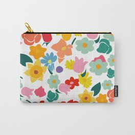 Unicorn flowers Carry-All Pouch