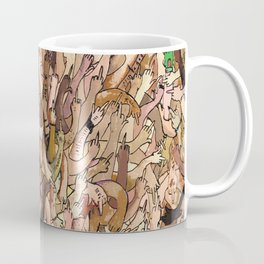 uncanny fuck-off Coffee Mug