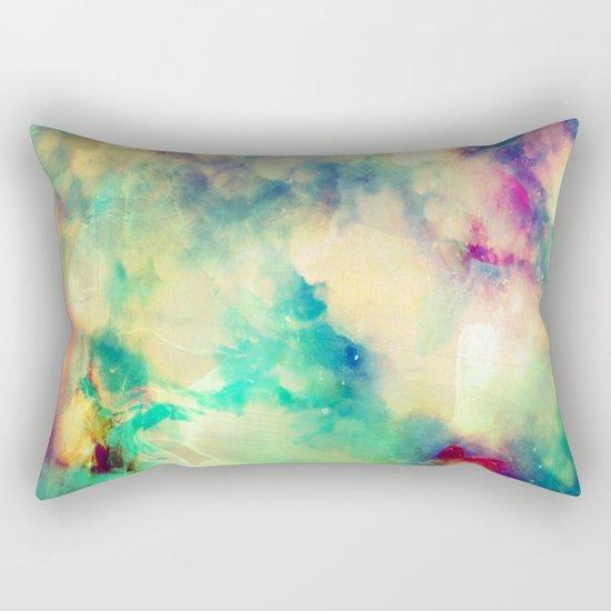 Fume Color Splash 02 Rectangular Pillow