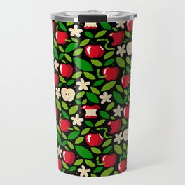 apple bloom and apple fruit Travel Mug
