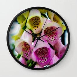 Bellflower Wall Clock
