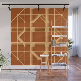 Embroidered Pattern No. 16 Wall Mural