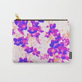 Spring Blossoms Branches Purple Carry-All Pouch