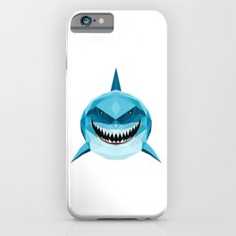 shark blue iPhone Case