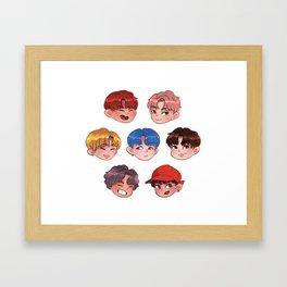 BTS - DNA Framed Art Print