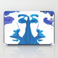 mirror iPad Cases featuring mirror by Zsofi Porkolab