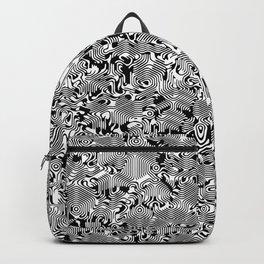 Warped Hexagons Backpack