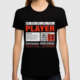 Funny Player Tshirt T-shirt